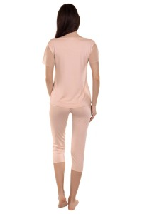 23272 - »Florianne« Short-sleeved Top and 3/4 Bottoms Pyjamas